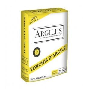 ARGILUS ENDUIT TORCHIS SAC 25KG