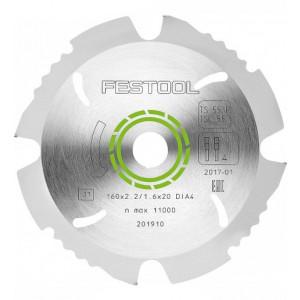 Festool Lame de scie diamant 160x2,2x20 DIA4