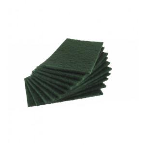 "5 tampons abrasifs vert ""PRO"" 225 x 140mm"